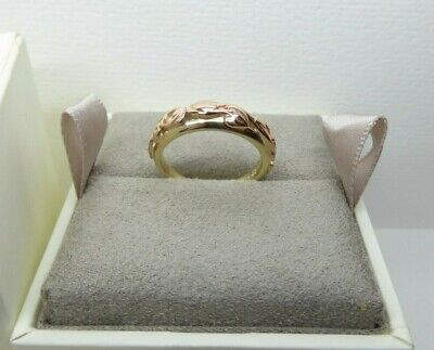 Clogau Gold, 9ct Yellow & Rose Gold Tree Of Life Ring Size N RRP £430 • 225£