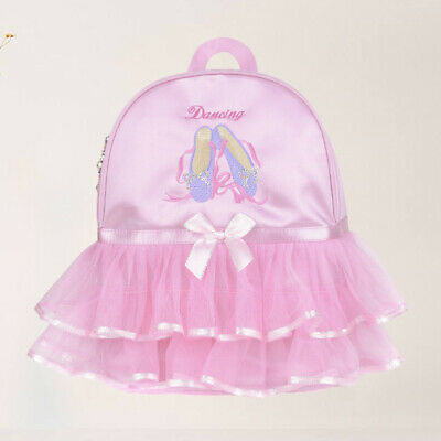 1pc Toddler Girls Backpack Ballet Princess Tutu Lovely Ballerina Dance Bag • 12.74£