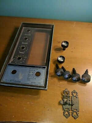 $ CDN56.12 • Buy Knobs Latch And Face Parts For Sears Silvertone Solid State Old Cabinet Radio