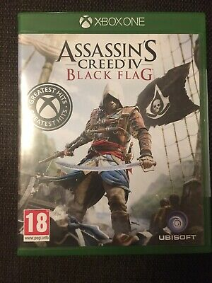 Assassins Creed IV Black Flag Xbox One Greatest Hits Sealed • 13£