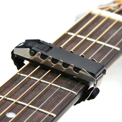 AU4.18 • Buy Acoustic Guitars Ukulele Capo Gear Silver Black Guitar Capo Guitar Access.Z2