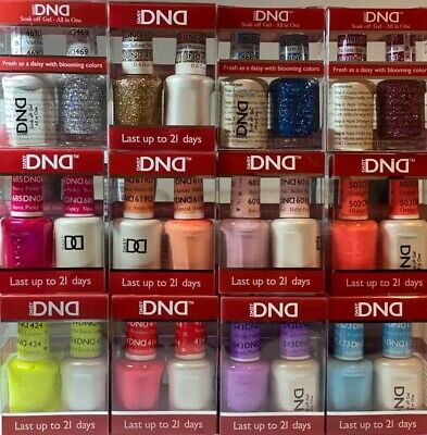 AU14.70 • Buy DND Daisy Duo Shellac Gel+Matching Nail Polish Color (654-710)