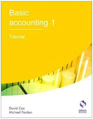Basic Accounting 1 Tutorial (AAT Accounting - Level 2 Certificate In Accounting) • 3.97£