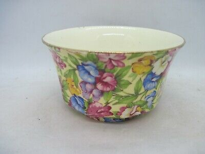 $ CDN26.53 • Buy Royal Winton Grimwades Sweet Pea Chintz Sugar Bowl - Multi Sided