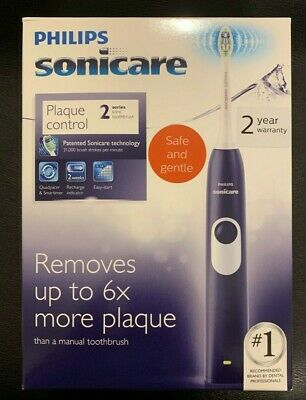 AU79.87 • Buy Sonicare Plaque Control Series 2 PURPLE Rechargeable Electric Toothbrush NEW