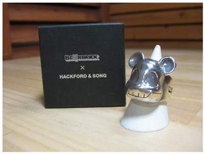 $268 • Buy Be@rbrick Hackford & Song Silver Ring Bearbrick Medicom Toy With Box