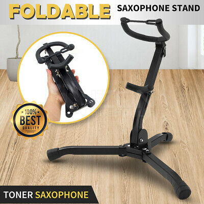 AU26.98 • Buy Alto Tenor Saxophone Stand Folds Up Compactly Stand Tool  Sax Portable Metal