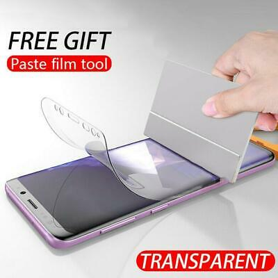 $ CDN3.29 • Buy Front Soft Clear Screen Protector Full Cover Soft Silicone For Samsung Gala