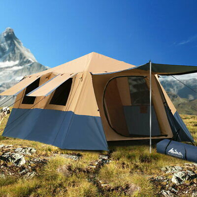 AU278.16 • Buy Weisshorn Instant Up Camping Tent 8 Person Pop Up Tents Family Hiking Dome Camp