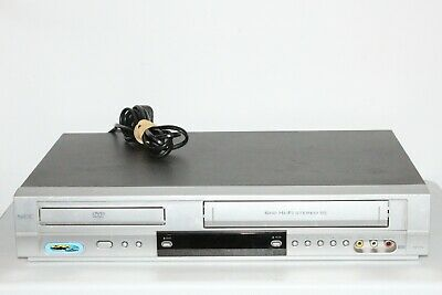 AU149.95 • Buy Serviced Nec Vcr/dvd Combo Player 6 Head Hifi Stereo Ndt-43 Vhs Player