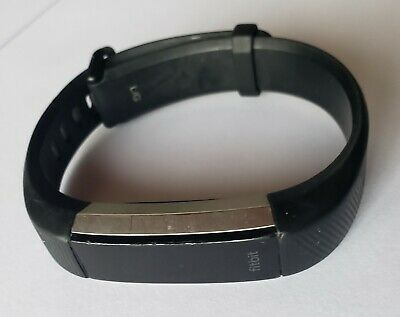 $ CDN38.26 • Buy LARGE BLACK Fitbit Alta HR Activity Tracker FB408BKL WITHOUT CHARGER - USED