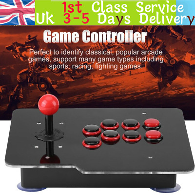 £23.25 • Buy USB2.0 Arcade Fighting Stick Joystick Gaming Controller Spare Button For PC Game