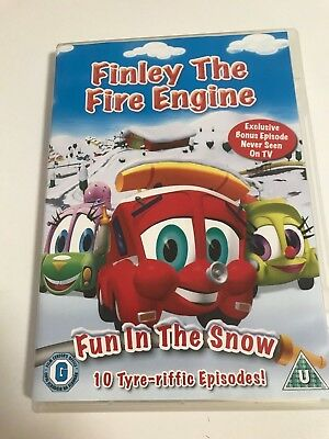 Finley The Fire Engine Vol.2 - Fun In The Snow (DVD, 2010) • 1.25£