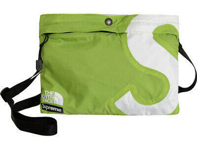 $ CDN95.52 • Buy Supreme The North Face S Logo Shoulder Bag Lime Green New In Bag Straps Included