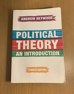 Political Theory: An Introduction By Andrew Heywood (Paperback, 2015) Used. • 12.95£