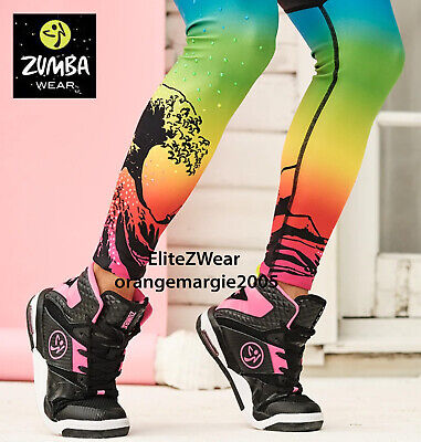 ZUMBA HIGH TOP SHOES TRAINERS DANCE FITNESS Max Support+ZSlide Zumba's Top Line  • 100.58£