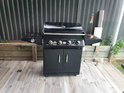 AU99 • Buy Used Jackeroo 4 Burner With Stove BBQ