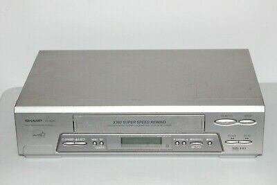 AU99.95 • Buy Serviced Sharp Vc-a310 Vcr Recorder Player Video Cassette Recorder
