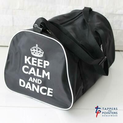 CLOSING DOWN SALE -Tappers & Pointers Holdall Bag With Keep Calm And Dance Motif • 4.99£