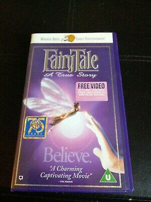 FairyTale A True Story Video Cassette Tape • 0.50£