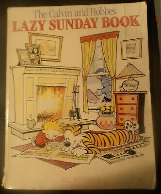 £4.99 • Buy Calvin And Hobbes: Lazy Sunday Book
