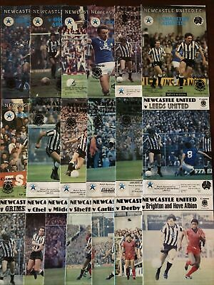 Collection Of 19 Newcastle United Football Programmes 1983/84 - Promotion Season • 6£