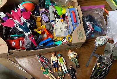 $ CDN89.31 • Buy Vintage Toy Lot Gi Joe Transformers Fisher Price And More Figures Vehicles