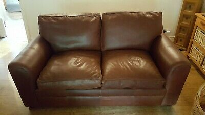 Halo Leather Sofa • 500£