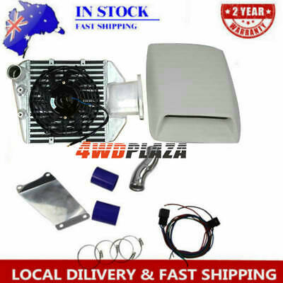 AU599 • Buy Top Mount Intercooler Kit For TOYOTA Landcruiser 80 Series 1-HZ 1-HDT 4.2L TD