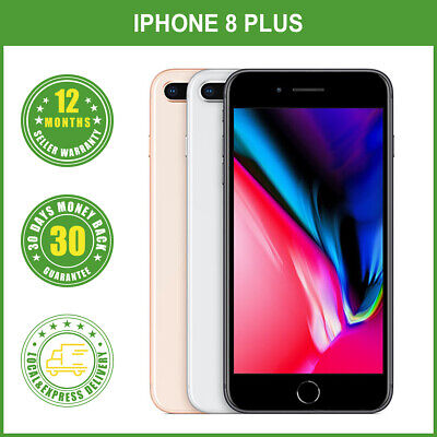AU529.99 • Buy New Factory Unlocked   Apple IPhone 8 Plus+ 64/256GB Smartphone LOCAL DELIVERY