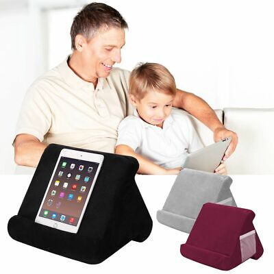 Soft Pillow Lap Stand For IPad Tablet Multi-Angle Phone Cushion Laptop Holder • 6.69£