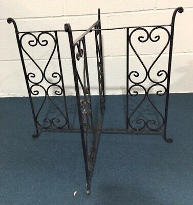Authentic Handmade Moroccan Metal Fretwork Tea Tray Table Legs 77cm - CLEARANCE • 25£
