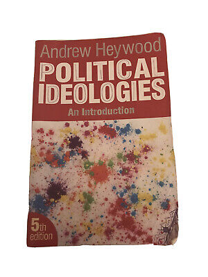 Political Ideologies: An Introduction By Andrew Heywood (Paperback, 2012) 5th Ex • 6.90£