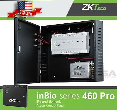 AU903.19 • Buy ZKTeco Inbio 460 Pro Access Control 4 Door,  Biometric Readers Zk, TCPIP