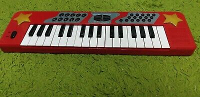 £10.99 • Buy CHAD VALLEY ELECTRONIC KEYBOARD RED Size: 48 Cm X 14 Cm