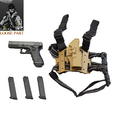 EASY&SIMPLE GA2002 1/6 Scale Phantom Gear And Weapon Set Figure Pistol Holster • 11.99£