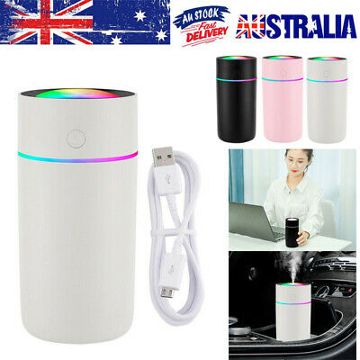 AU14.89 • Buy 320ml USB Air Humidifier Ultrasonic Cup Mist Diffuser Aroma For Car Office