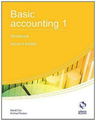 Basic Accounting 1 Workbook (AAT Accounting - Level 2 Certificate In Accounting) • 4.23£