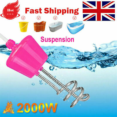 2000W Suspension Immersion Water Heater Element Boiler For Inflatable Pool UK • 17.09£