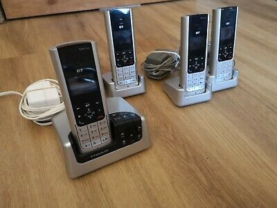BT Freestyle 310/350 4 Pack - 4 Digital Handsets + Answering Machine • 7.70£