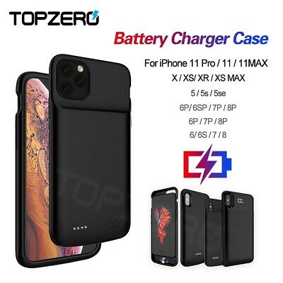AU35.95 • Buy For IPhone12 Pro Mini/ X XR MAX 11 Pro Battery Charger Power Bank Charging Case