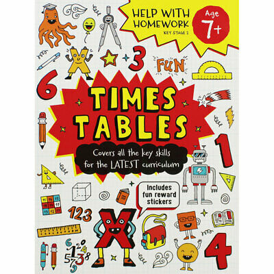£3.50 • Buy Times Tables: Help With Homework By Igloo Books (Paperback), Books, Brand New