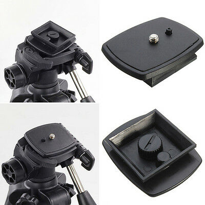 £2.32 • Buy Tripod Quick Release Plate Screw Adapter Mount Head For DSLR SLR CameraL EE