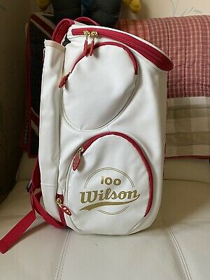 Wilson Tennis Backpack 100 Year White Gold. • 30£