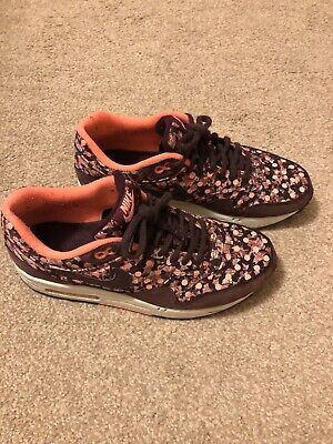 Ladies Nike Air Liberty Print Floral Trainers Size 6 • 40£