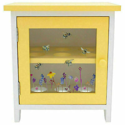 £19.99 • Buy Busy Bumble Bee Egg Cabinet Storage Wooden 12 Eggs Holder Kitchen Rack Decorgift