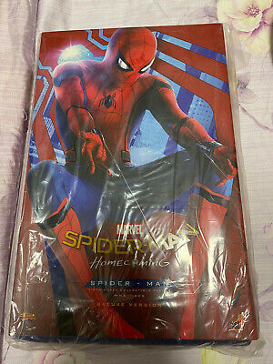$ CDN864.40 • Buy Hot Toys 1/6 Scale Spiderman Homecoming Spider-Man (DELUX VERSION) MMS426 UK