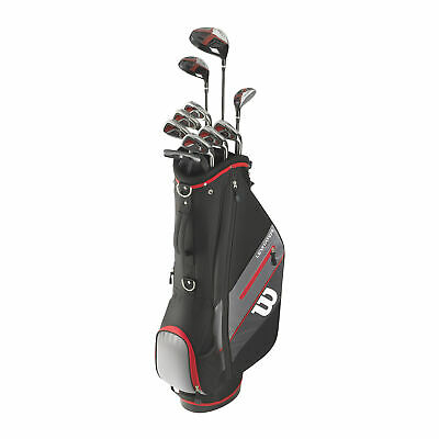 AU449.95 • Buy Wilson Golf 1200 G/EFFECT 1,3,5,6-S,P,B Package Set