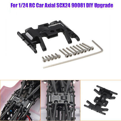 UK Axial SCX24 90081 Metal Mid-Gear Box Chassis Mount Bracket Center Skid Plate • 11.99£