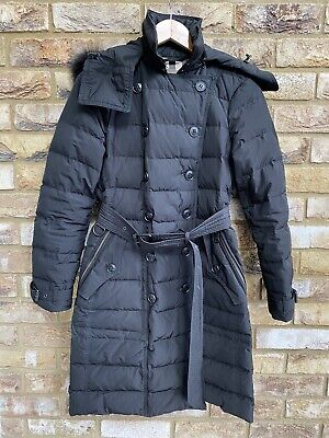 Burberry Brit Puffer Coat Size XS/S Used Genuine • 155£